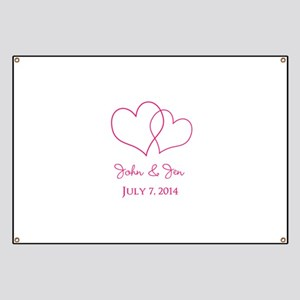 Custom Wedding Favor Banner