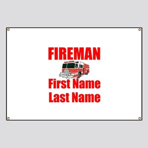 Fireman Banner