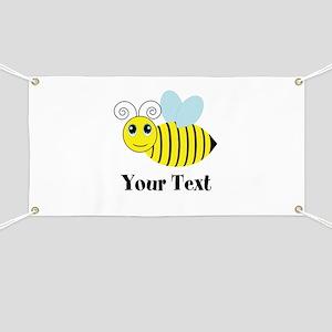 Personalizable Honey Bee Banner