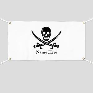 Custom Pirate Design Banner