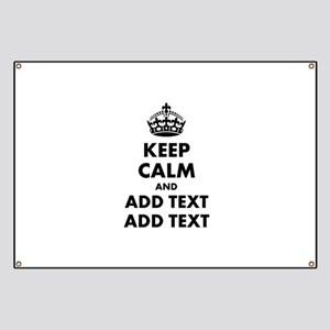 Personalized Keep Calm Banner