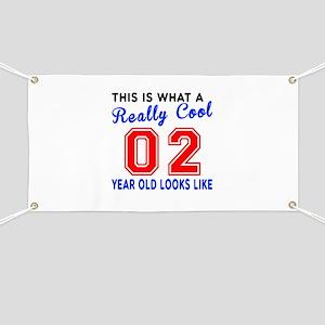Really Cool 02 Birthday Designs Banner