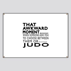 Judo Awkward Moment Designs Banner