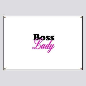 Boss Lady Banner