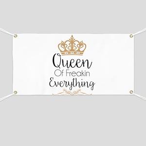 Queen of Freakin Everything Banner
