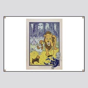 Cowardly_Lion_from_Dorothy_Wizard_of_Oz_190 Banner