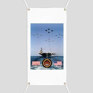 USS America CV-66 Banner