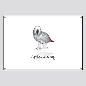 african grey parrot Banner