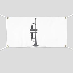 Upright Trumpet Banner