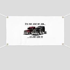Trucker - it's my life Banner