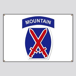 SSI - 10th Mountain Division Banner