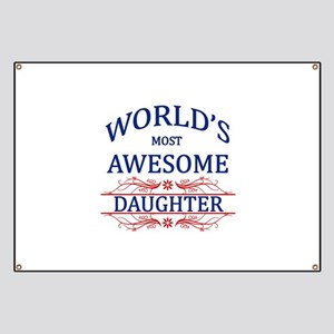World's Most Awesome Daughter Banner