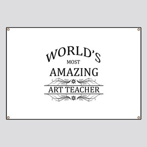 World's Most Amazing Art Teacher Banner