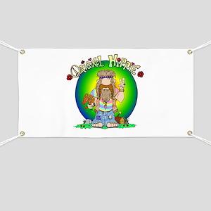 The Original Hippie Banner