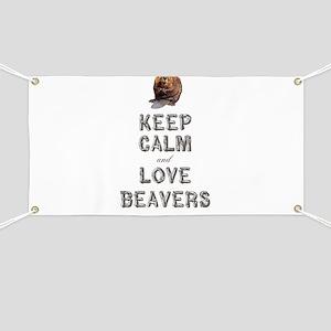 Wood Badge Beaver Banner