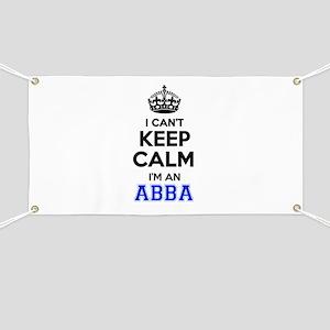 I cant keep calm Im ABBA Banner