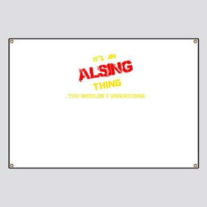 It's ALSING thing, you wouldn't understand Banner