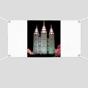 SLC Temple Banner