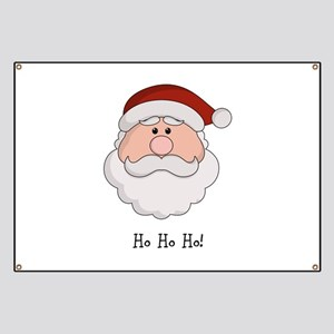 Santa Season Customizable Banner