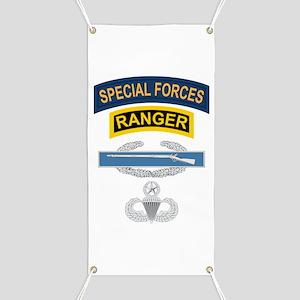 SF Ranger CIB Airborne Master Banner