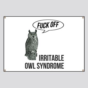 Irritable Owl Syndrome Banner