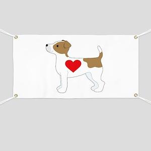Jack Russell Terrier Banner