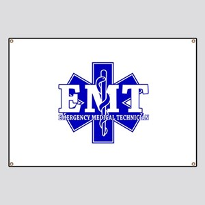 Star of Life (front) / Trauma Junkie (back) Banner