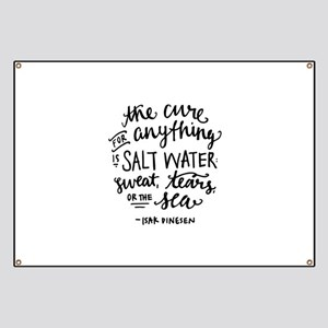 Salt Water Cure Banner