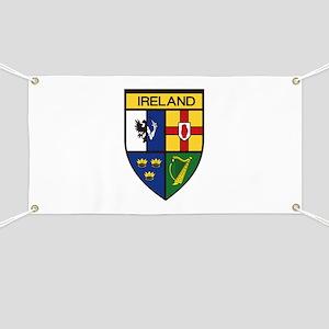 Irish Shield Banner