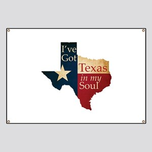 Texas in my Soul Banner