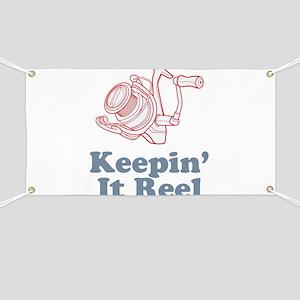 Keepin' It Reel Banner