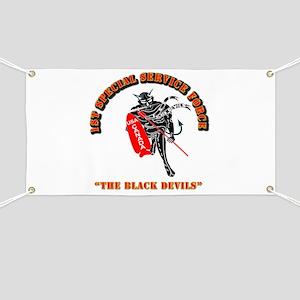 SOF - 1st SSF - Black Devils Banner
