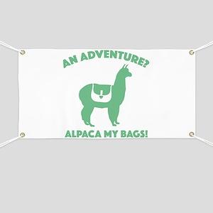 Alpaca My Bags Banner