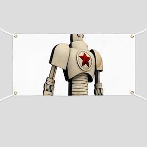 Robot soviet space propaganda Banner