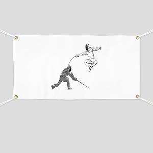 Fencing Match Banner