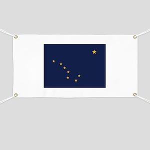 Flag of Alaska Banner