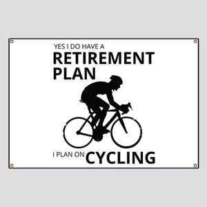 Cyclist Retirement Plan Banner