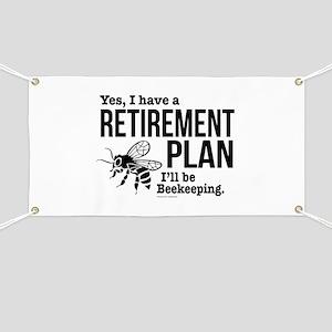 Beekeeping Retirement Banner