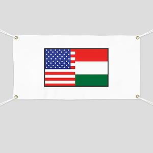USA/Hungary Banner