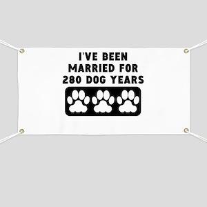 40th Anniversary Dog Years Banner