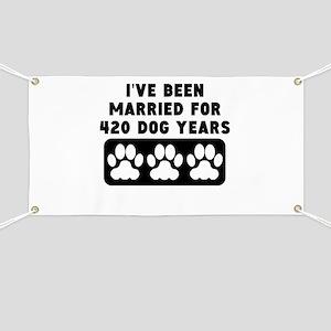 60th Anniversary Dog Years Banner