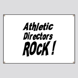 Athletic Directors Rock ! Banner