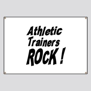 Athletic Trainers Rock ! Banner