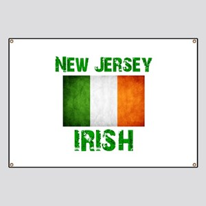 """New Jersey IRISH"" Banner"