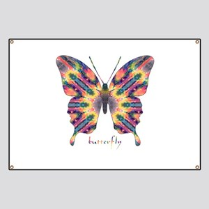 Delight Butterfly Banner