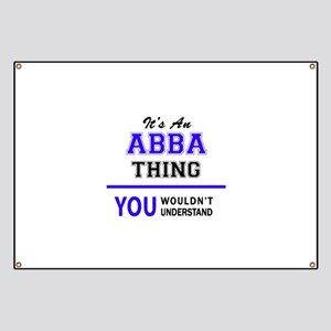 ABBA thing, you wouldn't understand! Banner