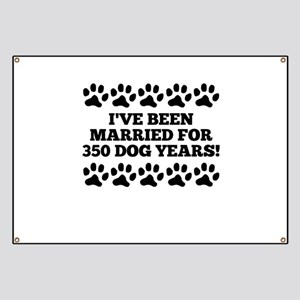 50th Anniversary Dog Years Banner