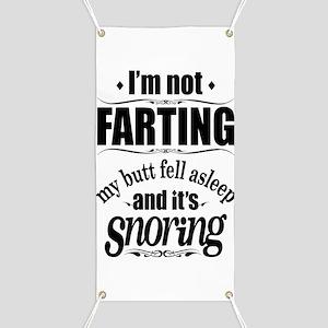 Fart Snoring Banner