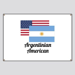 American And Argentinian Flag Banner