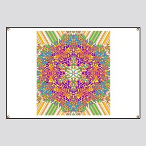 Abstract Psychedelic Kaleidoscope (17) Banner